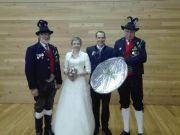 Hochzeit Andreas Danler mit Sonja in Steinberg