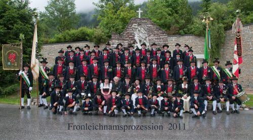 Aschbacher Schützenkompanie 2011 - Fronleichnamsprozession
