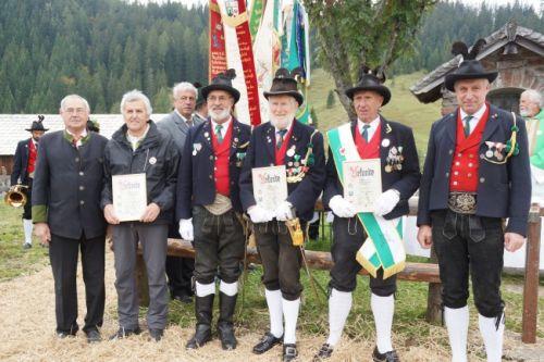 Verleihung der neuen Aschbacher-Verdienstmedaille